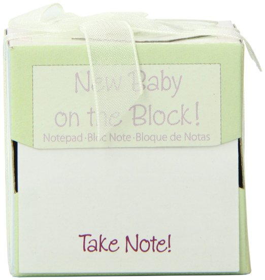 New Baby on the block Notepad