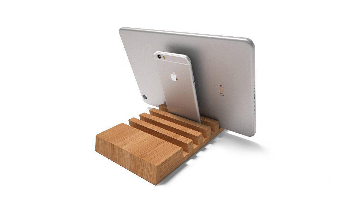 Engraved personalized Ipad iphone stand