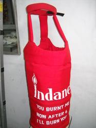 gas cylinder as Indian Halloween Dress Idea