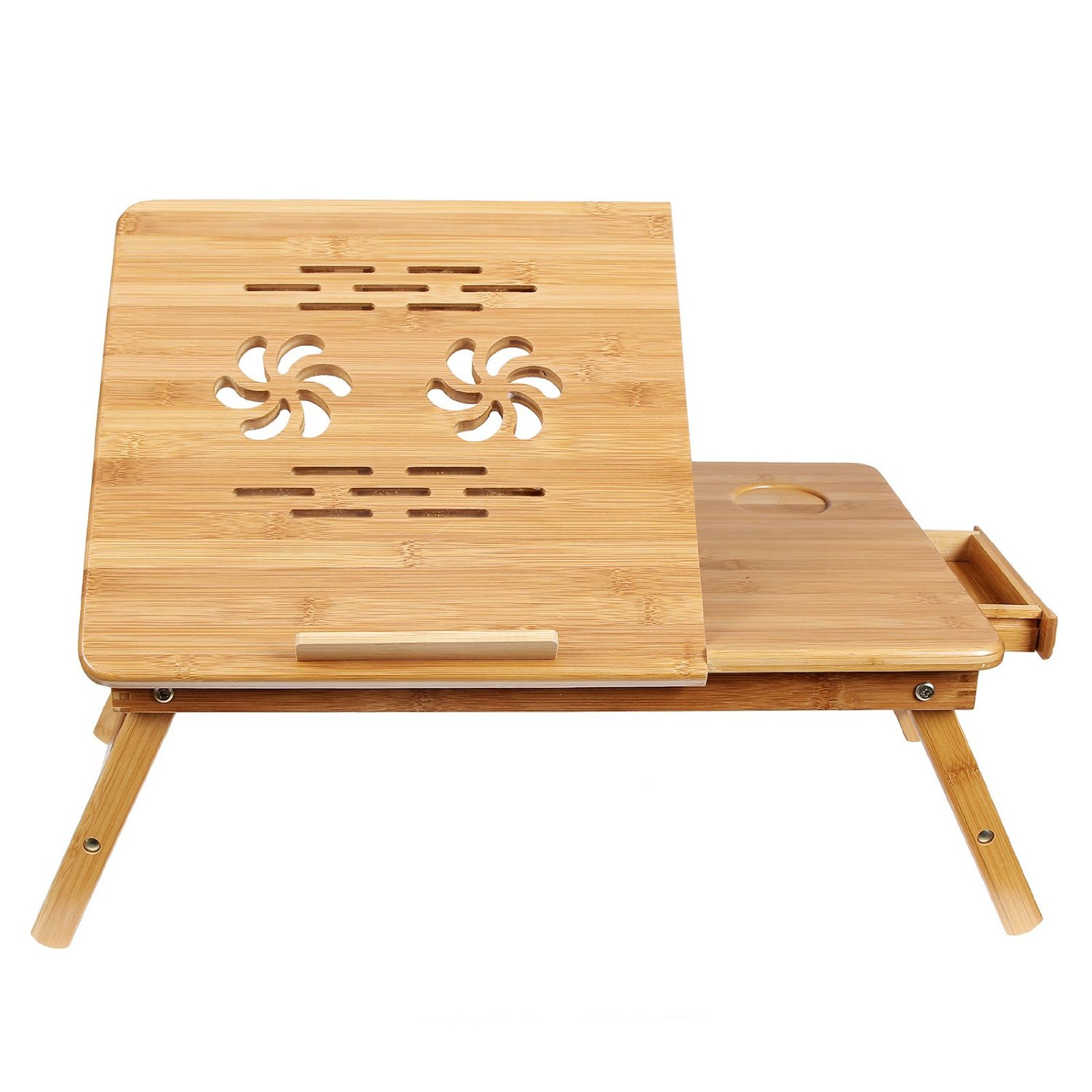 Foldable laptop breakfast table for her anniversary gift