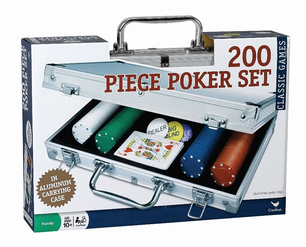 poker set and chips party game idea