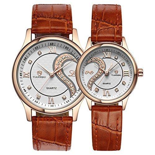 Romantic watch set as anniversary gift