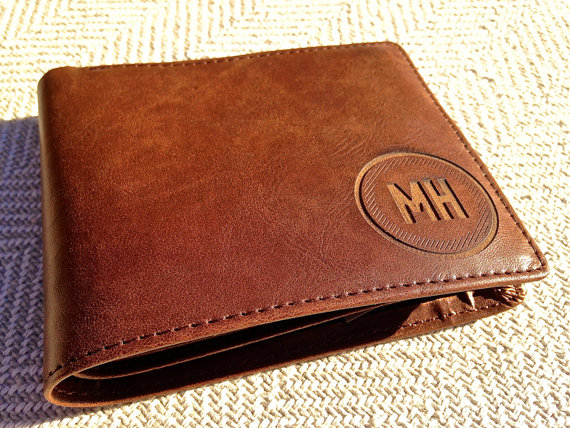Engraved Customized Wallet for Him