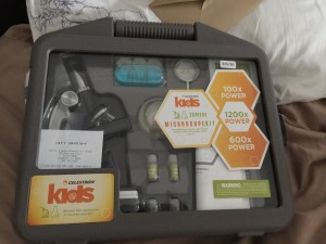 Celestron 28 piece kids microscopic kit