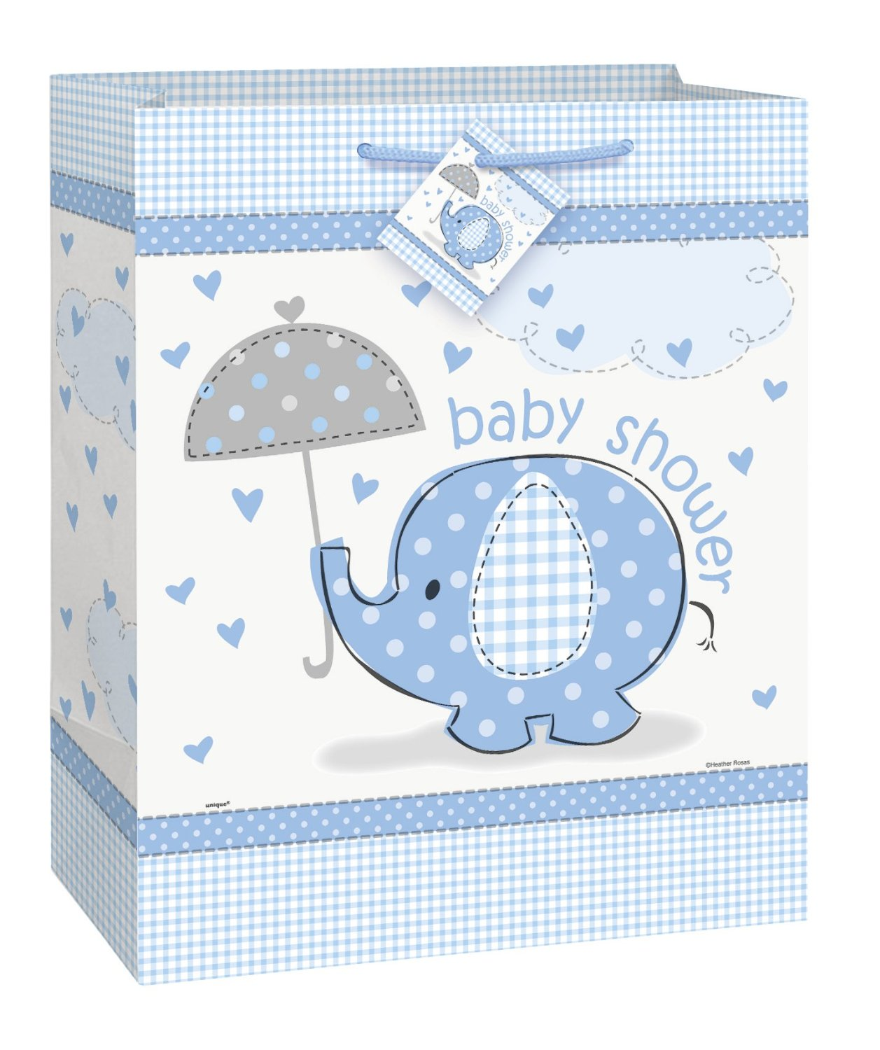 Baby Boy Blue Favor Bags