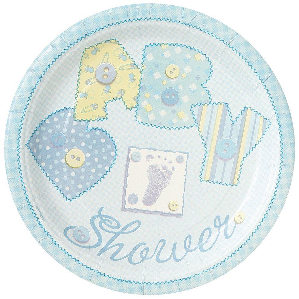 Baby shower dessert plates
