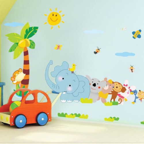 Wall Sticker Decal for Baby Nursery Kids Room