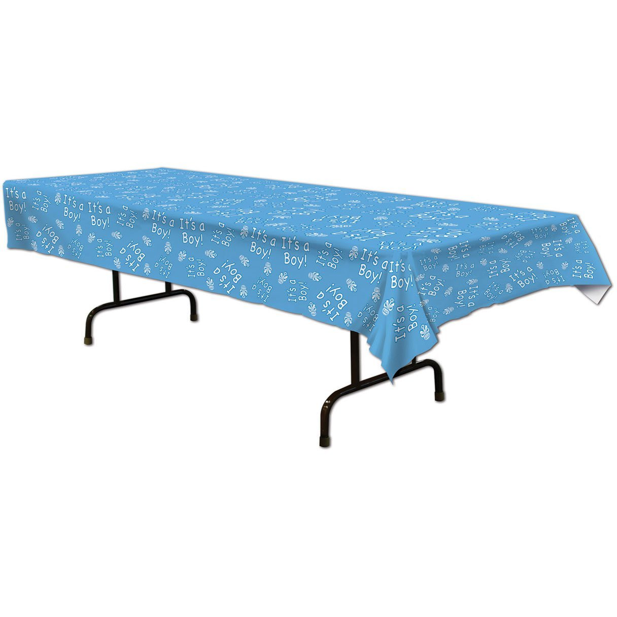Its a boy Baby Shower Table Cloth