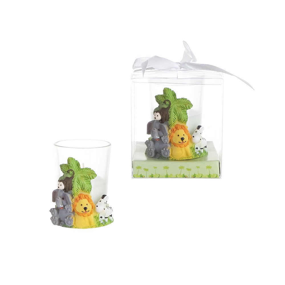 Baby Shower animal candle are party favor