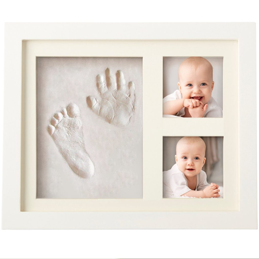 Baby gift Clay picture holder