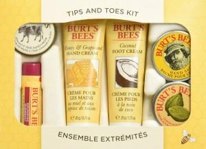 Burt Bees hand and Feet Kit