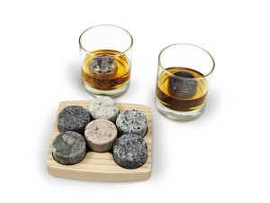 Whiskey On Rocks Birthday Gift Idea