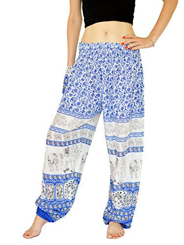 Indian yoga pants white