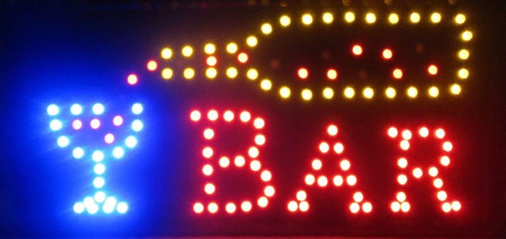 LED Bar sign