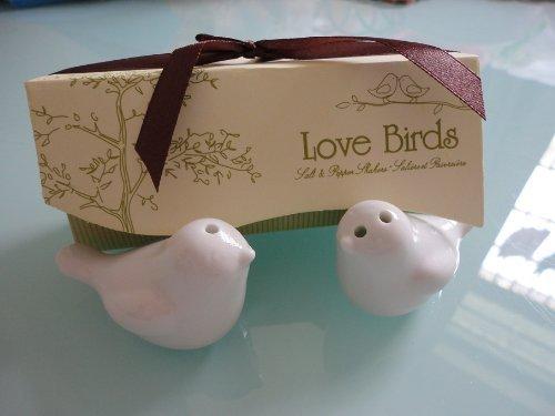 Love Bird Salt & Pepper Shakers Wedding Party Favor Gift