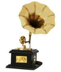 mariyam-antique-wooden-and-brass-gramophone-home-decor-traditional-showpiece